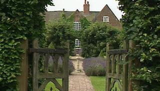 John Crane's garden in Leicestershire