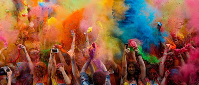 Happy Holi 2020 colorful HD Wallpaper Images