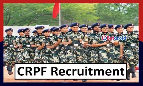 CRPF Recruitment 2021, Apply for CRPF Head Constable Job Vacancy