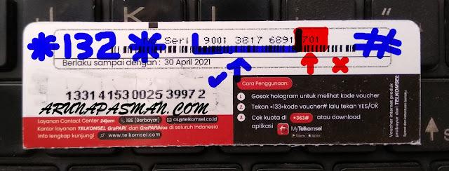 deskripsi Cara Cek Masa Aktif Voucher Telkomsel