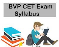 BVP CET Exam Pattern