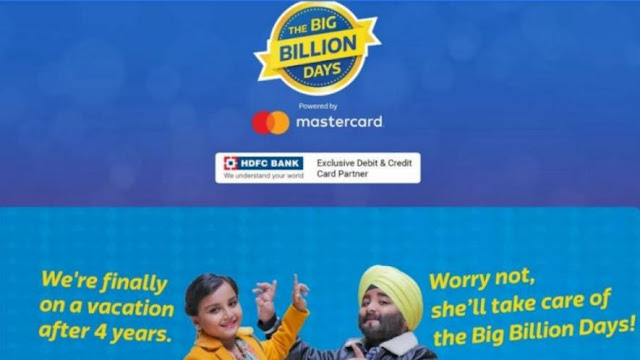 Flipkart Big Billion Days Sale 2018