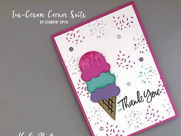 Kylie's Demonstrator Training Program Blog Hop May 2021 | Ice-Cream Corner Suite