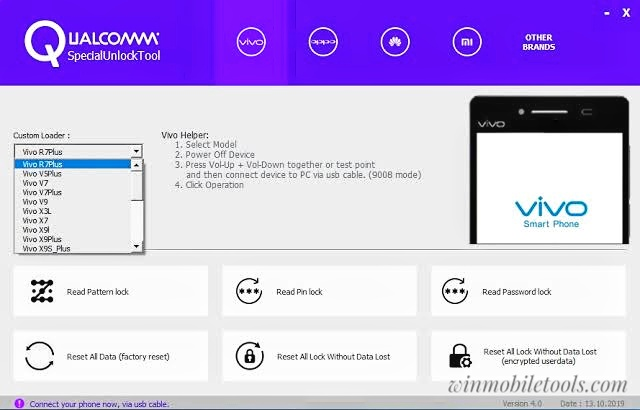 Qualcomm Special Unlock Tool V4.0 Latest Version Free Download