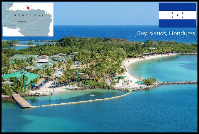 Bay Islands, Honduras, Caribbean island
