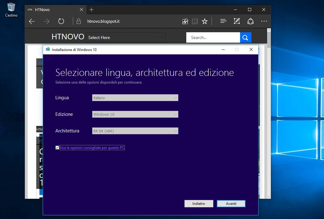 Come installare Windows 10 tramite ISO senza supporto esterno (DVD o PenDrive) 2