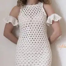 Vestido Chanel a Crochet