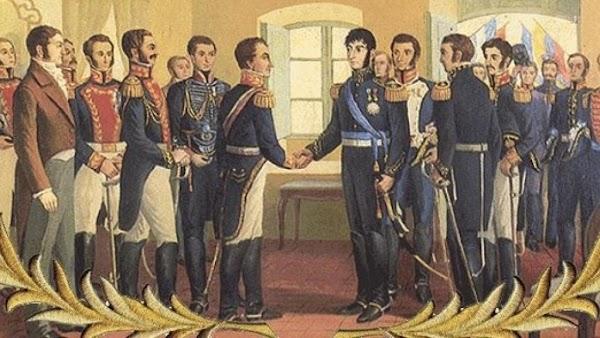 Simón Bolívar y José de San Martín : Mitos y Leyendas
