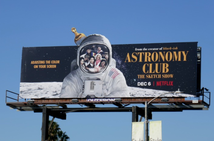 Astronomy Club Sketch Show series billboard