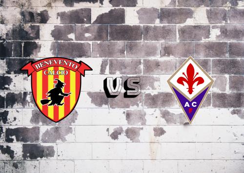 Benevento vs Fiorentina  Resumen