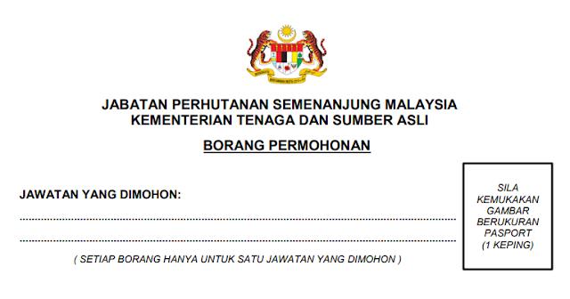 jabatan perhutanan malaysia jobs