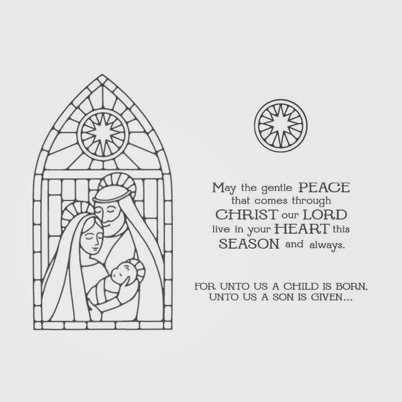 Jomina Creations: NEW Gentle Peace Stamp Set