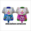 Balon Foil Baby Clothes Mini