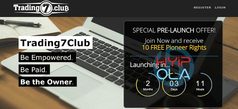 [SCAM] Review Trading7 Club [T7Club] - Nhận 40% lợi nhuận từ công ty Trading, 500% từ token PR