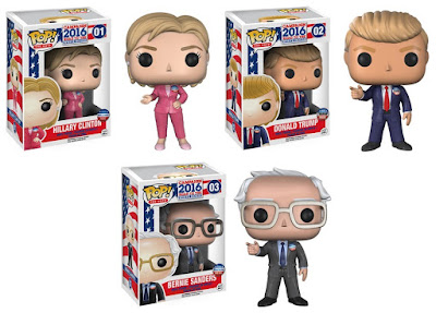 Campaign 2016: Road to the White House Pop! The Vote Figures by Funko - Hillary Clinton, Donald Trump & Bernie Sanders