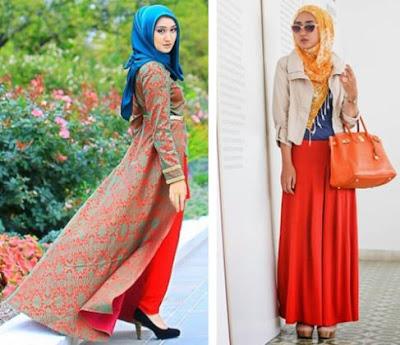 model terbaru baju muslim gaya masa kini