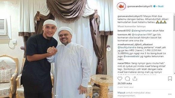 Heboh Foto Mantan Bek Persija Bersama HRS Dihapus oleh Instagram