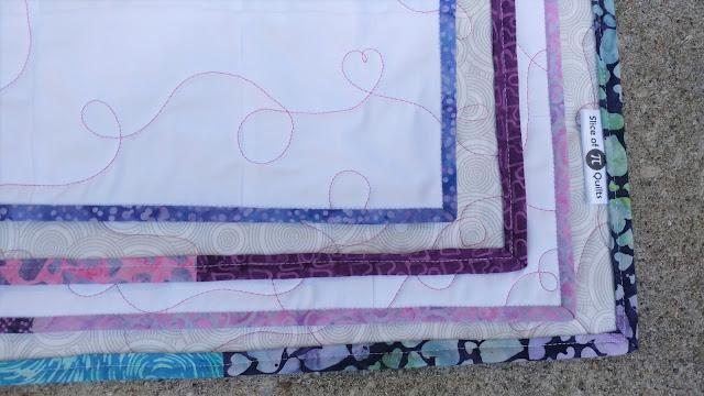Scrappy batik binding