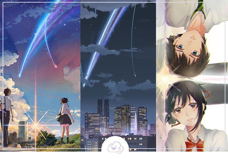 Wallpapers de Your Name ( Kimi no Na wa) para celular!