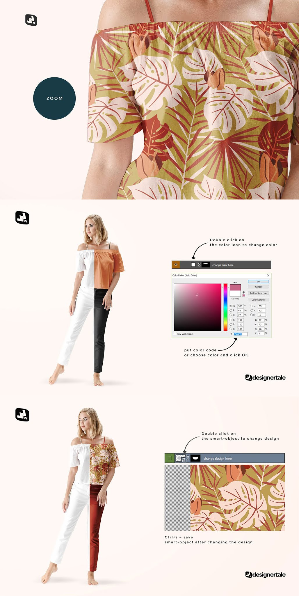 CreativeMarket Female Summer Outfit Mockup 4971813 Download