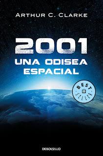 """2001: Una odisea espacial"" de Arthur C. Clarke"