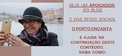 banner de divulgação para parcerias e serviços do o Porto encanta