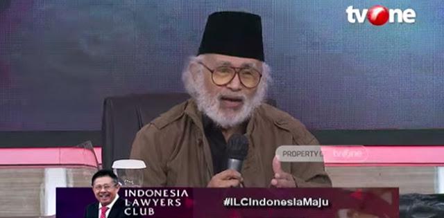 Profesor Salim Said: KAMI Bukanlah Sebuah Barang Baru, Tak Perlu Terkejut dan Curiga Berlebihan