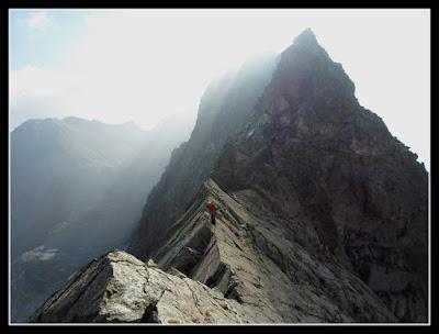 En la cresta Seil de la Baque Portillón