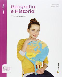 Libro Geografía e Historia 1º ESO Santillana Proyecto Saber Hacer Serie Descubre