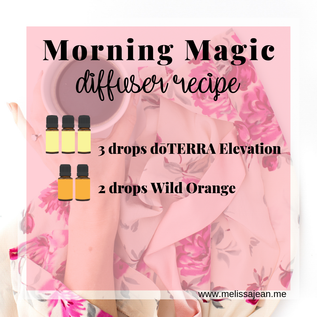 Morning Magic Diffuser Recipe