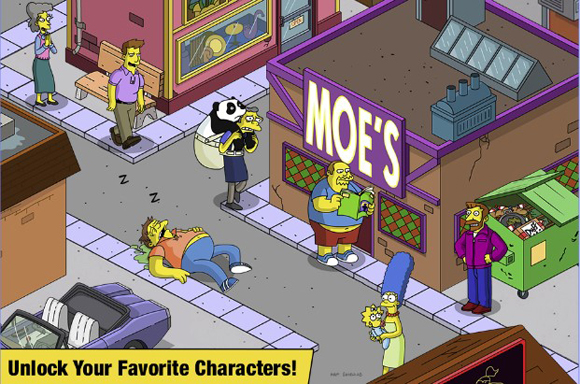 The Simpsons Tapped Out Mod Apk Unlimited Money/Donuts Terbaru