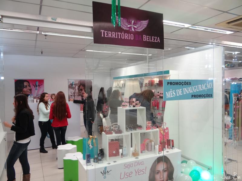 e63b94b0b Visita na loja Território da Beleza | Yes! Cosmetics Porto Alegre - Bianca  Schultz