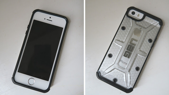 new phone in the UAG case