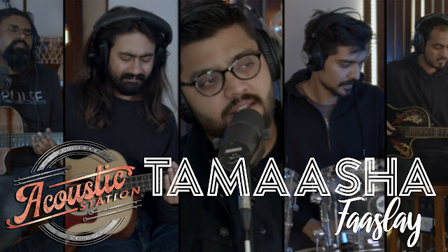 Tamaasha released a brand new single, Faaslay on Acoustic Station produced by Kashan Admani.