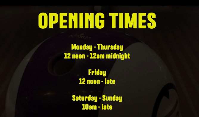 Gutterball Royal Quays Opening Times