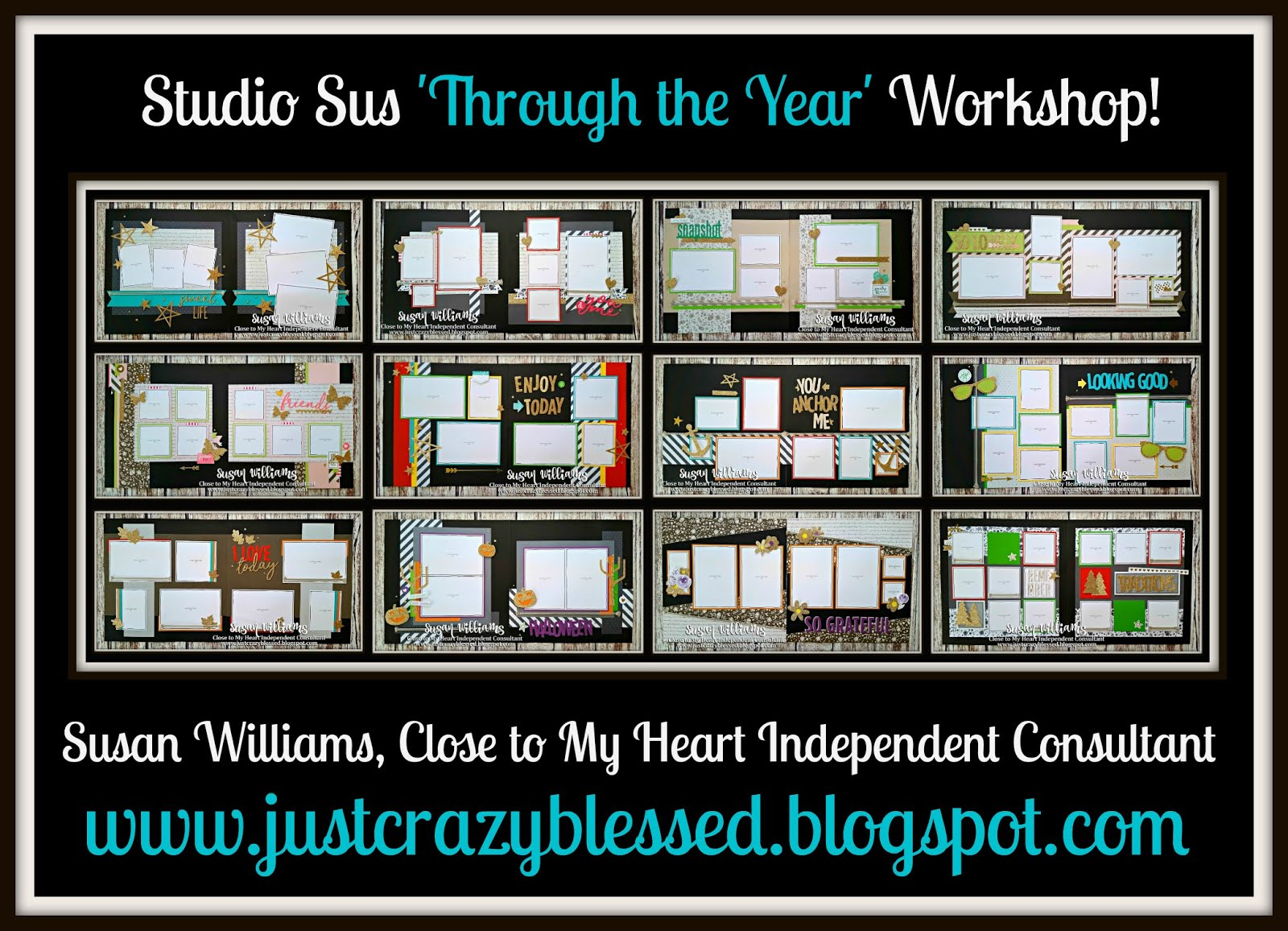 'Through the Year' Scrapbooking Workshop!