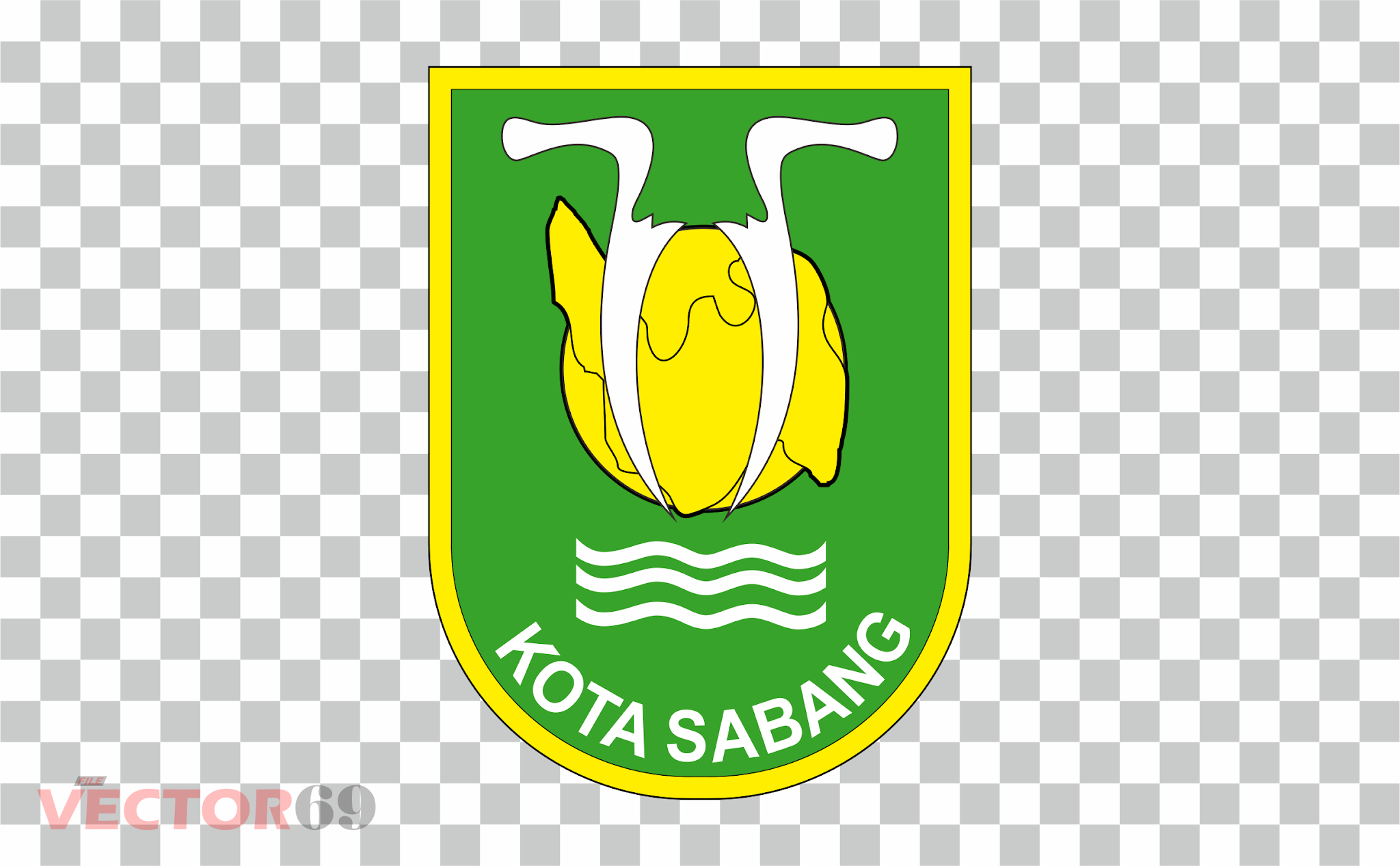 Kota Sabang Logo - Download Vector File PNG (Portable Network Graphics)