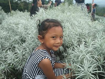Nadia Diva Sari di  taman Jinja Bali