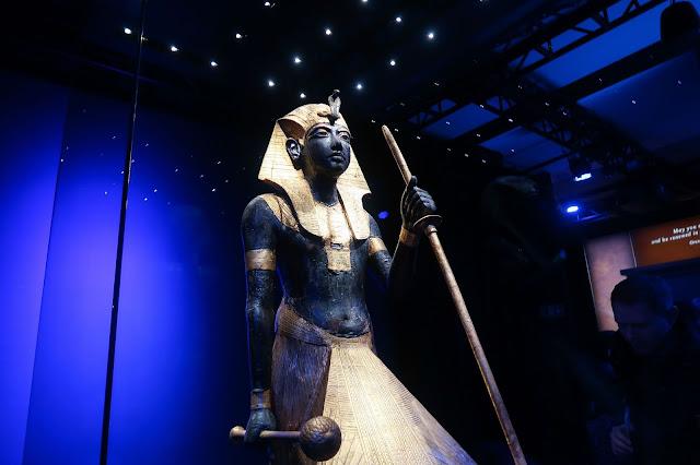 Tutankhamun Saatchi Gallery