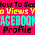 How to View Your Facebook Profile Viewers