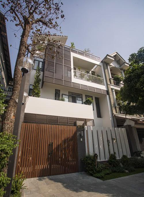 Ngôi nhà 96m2 với vườn cây xanh mát ở Sài Gòn
