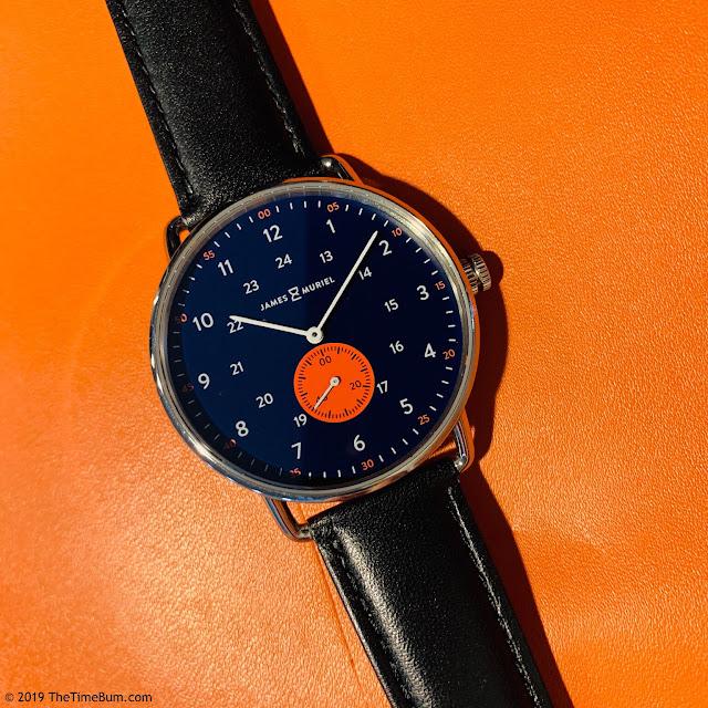 James & Muriel TimeKeeper Horizon Blue