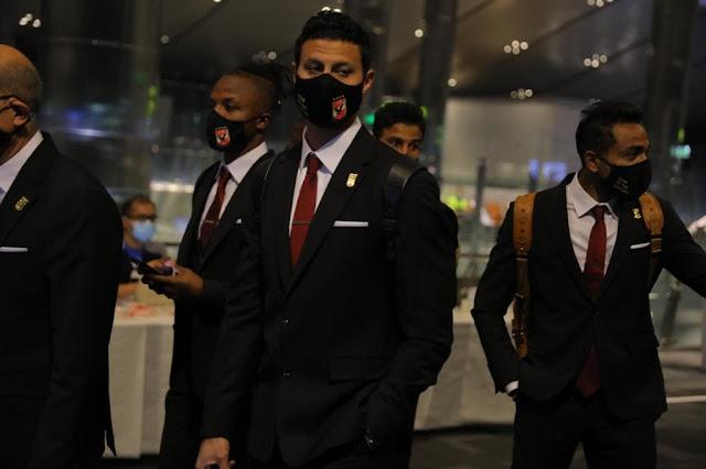 بعثة الأهلي تصل مطار الدوحة للمشاركة في كأس العالم للأندية
