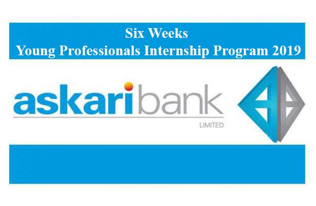 Askari Bank Limited – Young Professionals Internship Program June 2019 (Six Weeks Internship)