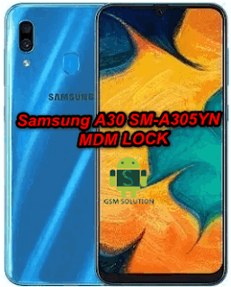 How To Remove Samsung A30 SM-A305YN MDM Lock