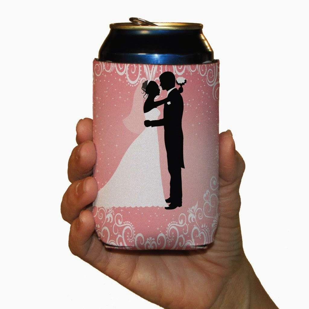 To have and to hold ... and to keep your drink cold! Koozies are such FUN wedding favor ideas. Get some inspiration from www.abrideonabudget.com and find out where to order them for your wedding!