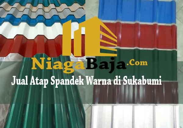 Jual Atap Spandek Warna di Sukabumi - Harga Murah Berkualitas