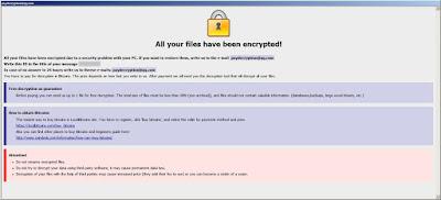 Ransom Note - Εγκατεστημένα προγράμαμτα ενημερωμένα
