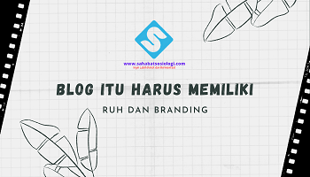 Ruh dan Branding Blog