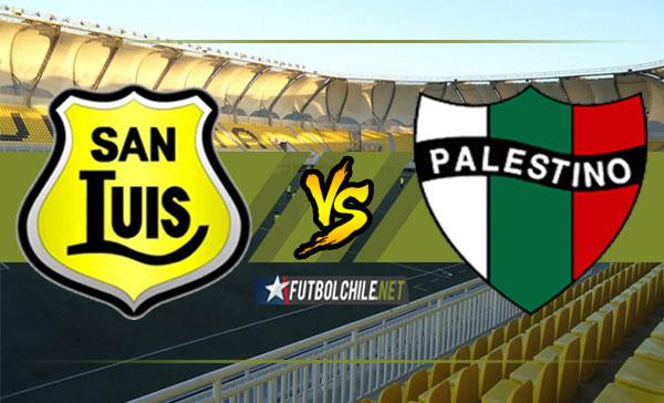San Luis cayó como local 0-1 frente a Palestino